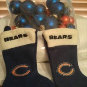 Chicago Bear ornaments